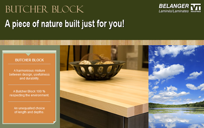 Belanger Butcher Block Countertops